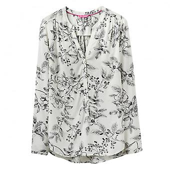 Joules Rosamund Pop Over Ladies Blouse (V)