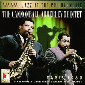 Cannonball Adderley - Paris 1960 [CD] USA import