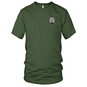 US Army - 3rd Battalion 4th Aviation Attack Regiment D Company Embroidered Patch - Ladies T Shirt