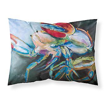 Carolines Treasures  JMK1103PILLOWCASE Blue Crab Fabric Standard Pillowcase