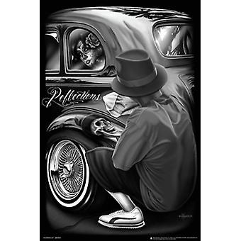 David Gonzales kunst - refleksioner plakat plakat Print