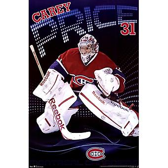 Montreal Canadiens - C Price 13 Poster Poster Print