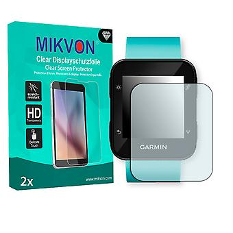 Garmin Forerunner 35 Screen Protector - Mikvon Clear (Retail Package with accessories)