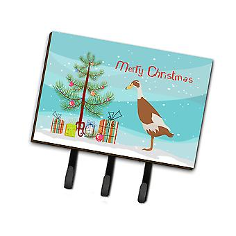 Carolines Treasures  BB9232TH68 Indian Runner Duck Christmas Leash or Key Holder