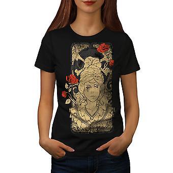 Meisje Bone gekleedinzwartet-shirt vrouwen Rose mode | Wellcoda