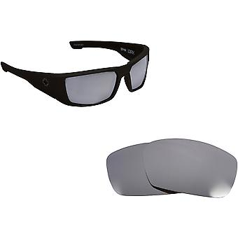 DIRK Replacement Lenses Polarized Silver by SEEK fits SPY OPTICS Sunglasses