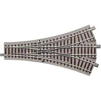 H0 Roco GeoLine (incl. track bed) 61160 3-way points