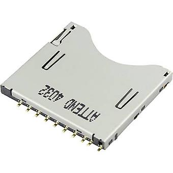SD Card connector Push, Push Attend 104D-TCA0-R06