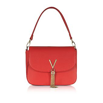 Valentino by Mario Valentino women's VBS1R404GRED red leather handbags
