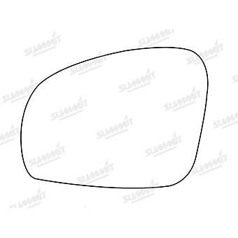 Left Stick-On Mirror Glass Easy to Fit For Skoda Fabia Estate 2007-2014