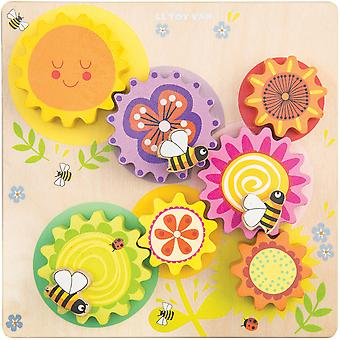 Le Toy Van Petilou ingranaggi & Cogs 'Busy Bee Learning'