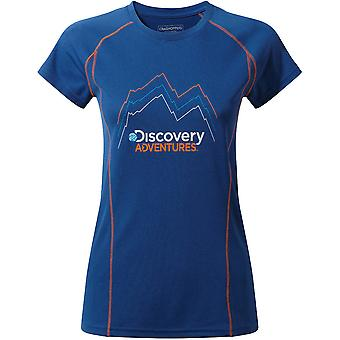Craghoppers Womens/Ladies Discovery Adventure Short Sleeve T Shirt
