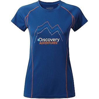 Craghoppers Womens/dames Discovery avontuur korte mouw T Shirt