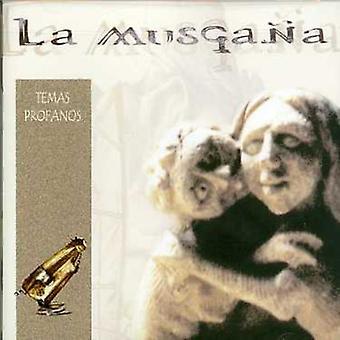 La Musgana - Temas Profanos [CD] USA import