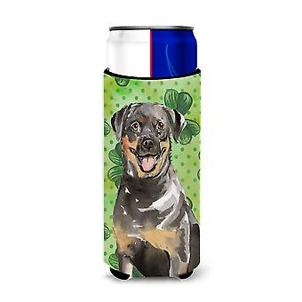 Shamrocks Rottweiler Michelob Ultra Hugger for slim cans