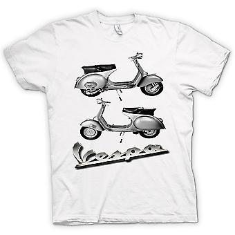 Womens T-shirt - Vespa 150GS Scooter - Mod