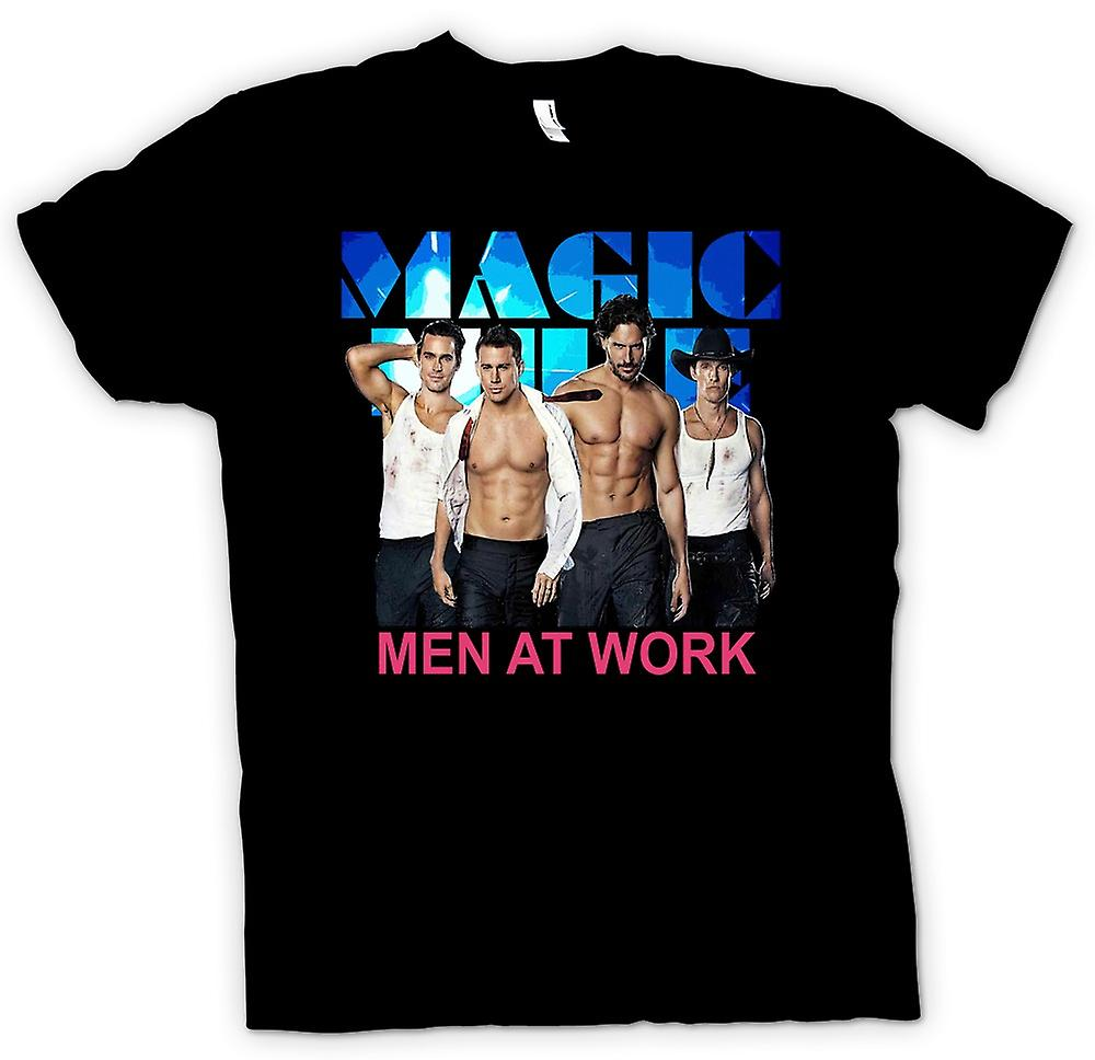 T-shirt - Magic Mike - Men At Work