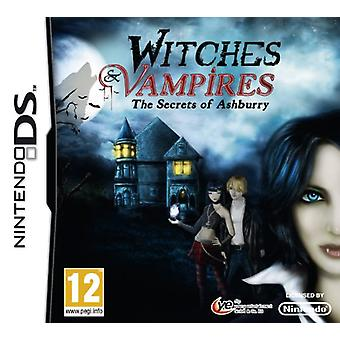 Witches  Vampires Secrets of Ashburry (Nintendo DS) - Factory Sealed