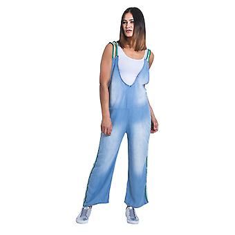 Damen Overall - Einheitsgröße All-in-One Playsuit