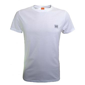 Hugo Boss Casual Men's White Tommi UK T-Shirt