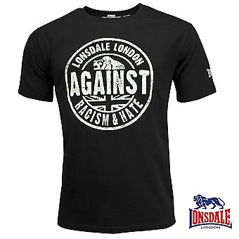 Lonsdale mens T-Shirt against racism