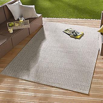 I - & Outdoorteppich mønt grå | 102475