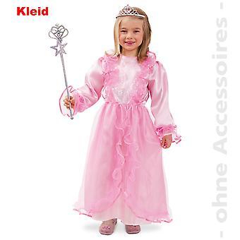 Rosa de princesa vestido de traje de la princesa niños traje de la reina infantil