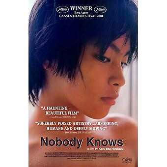 Nobody Knows Movie Poster (11 x 17)