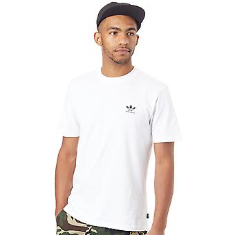 Adidas White-Black Clima 2.0 T-Shirt