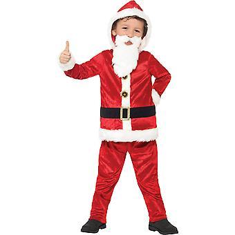 Costumi lusso Santa vestito bambini per bambini