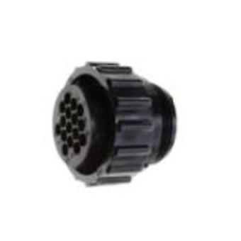 TE Connectivity 206037-1 Bullet connector Plug, straight Series (connectors): CPC Total number of pins: 16 1 pc(s)