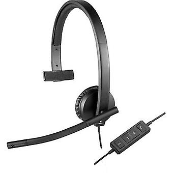 PC headset USB Mono, Corded Logitech H570e Over-th