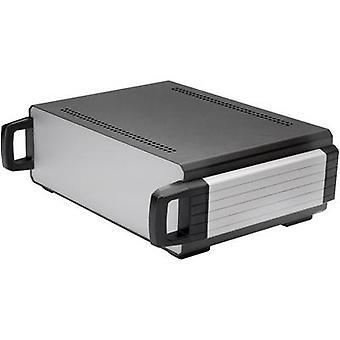 Desktop case 250 x 200 x 90 Aluminium Anthracite Axxatronic CDIC00004-CON 1 pc(s)