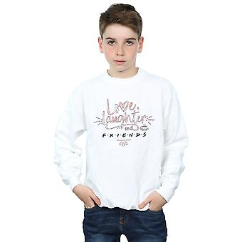 Friends Boys Love Laughter Sweatshirt
