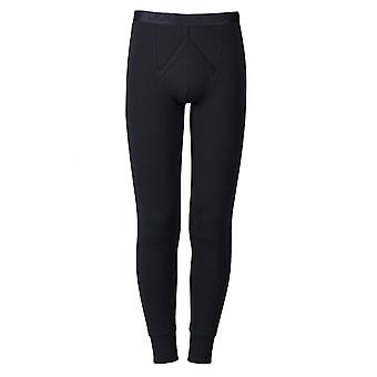 Jockey Modern Thermal Y Front  Long John Black