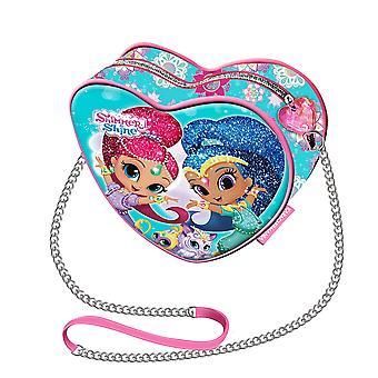 Shimmer and Shine Handbag Heart