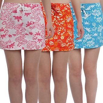 Brugi Womens Floral Cover Up Beach Swimming Swim Board Skirt
