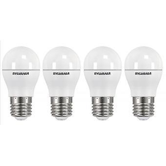 4 x Sylvania ToLEDo Ball Dimmable E27 V3 5.6W Homelight LED 470lm [Energy Class A+]