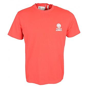 Franklin & Marshall Plain Jersey Round Neck Red T-shirt