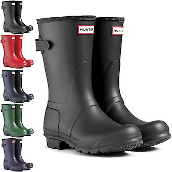 Womens Hunter Original Adjustable Back Short Winter Snow Rain Rubber Boot
