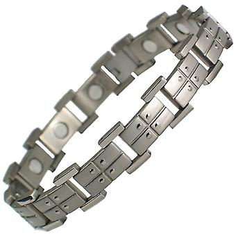 MPS® VIKING Titanium Magnetic Bracelet + with Free Link Removal Tool