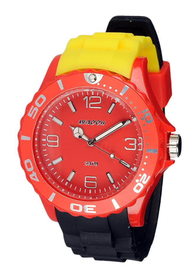 Waooh - Watch Silicone Tricolore German Flag MC42