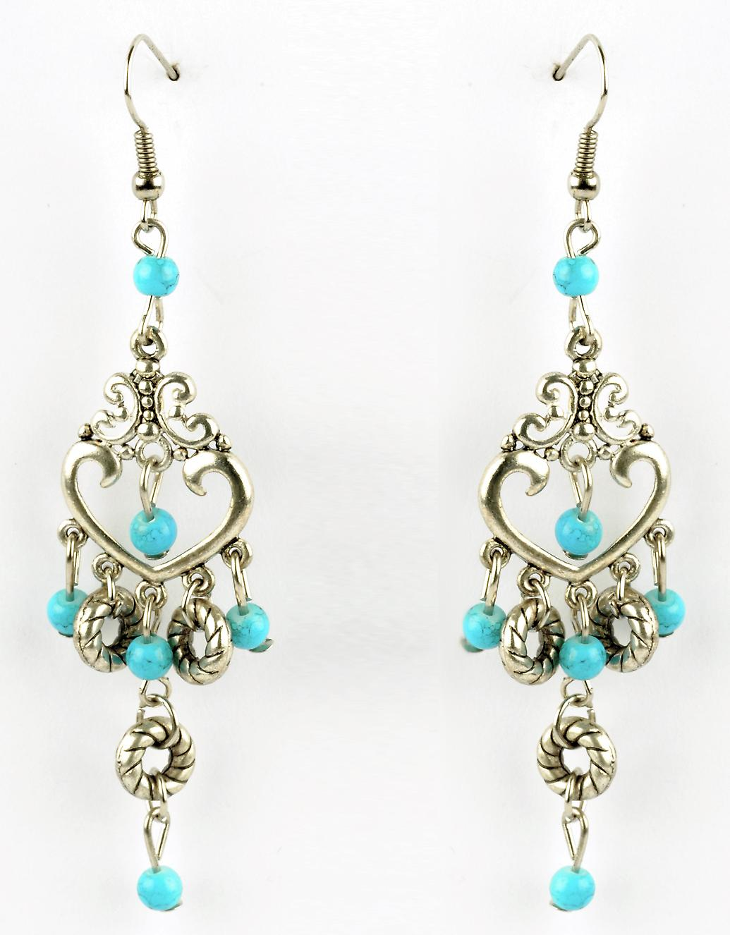 Waooh - Fashion Jewellery - WJ0780 - On Earrings Antique Silver