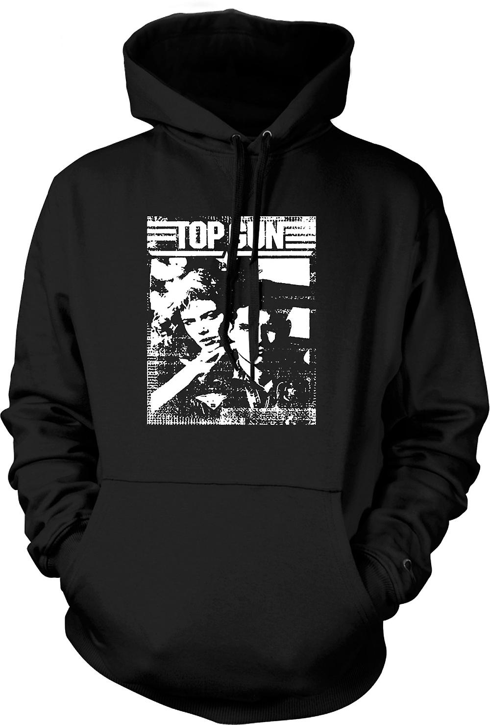 Mens Hoodie - Top Gun Maverick - Pop Art - Movie