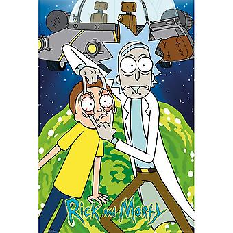 Rick And Morty Space Poster
