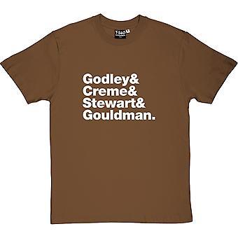 10CC Line-Up Men's T-Shirt