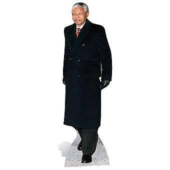 Nelson Mandela Lifesize Karton Ausschnitt / f