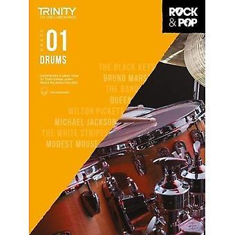 Trinity Rock & Pop 2018 Drums Grade 1 - Trinity Rock & Pop 2018 (bladmuziek)