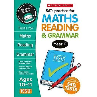 SATS Praxis für Mathematik, lesen und Grammatik Jahr 6