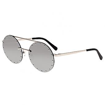 Bertha Harlow Polarized Sunglasses - Silver